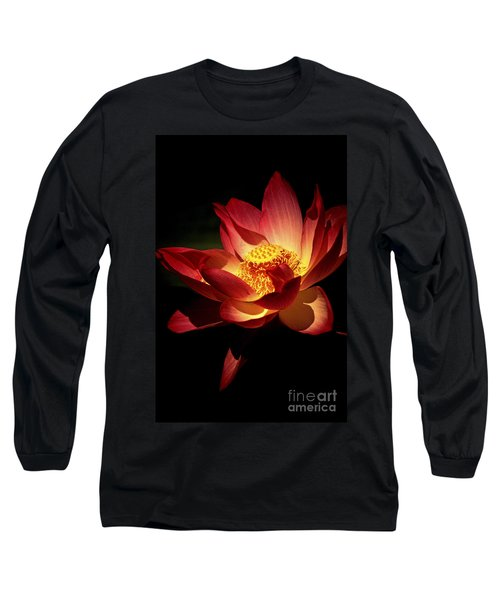 Lotus Blossom Long Sleeve T-Shirt by Paul W Faust -  Impressions of Light