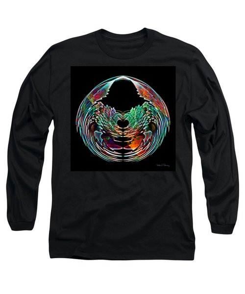 Lotus In A Bowl Long Sleeve T-Shirt