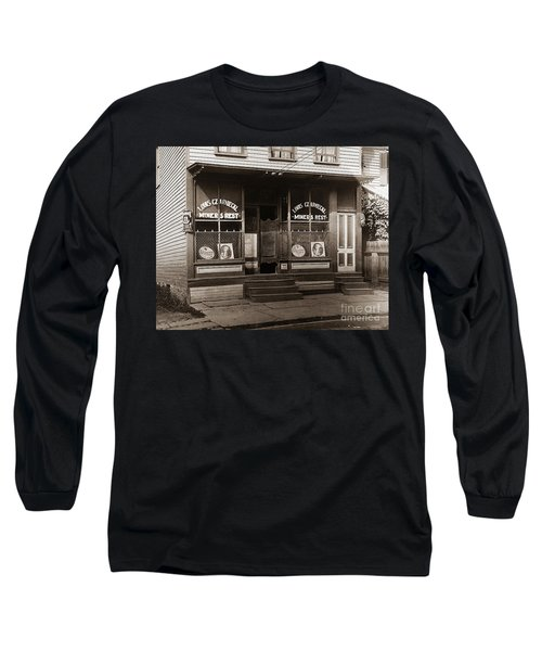 Louis Czarniecki Miners Rest 209 George Ave Parsons Pennsylvania Long Sleeve T-Shirt