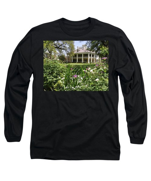 Louisiana April Long Sleeve T-Shirt by Helen Haw