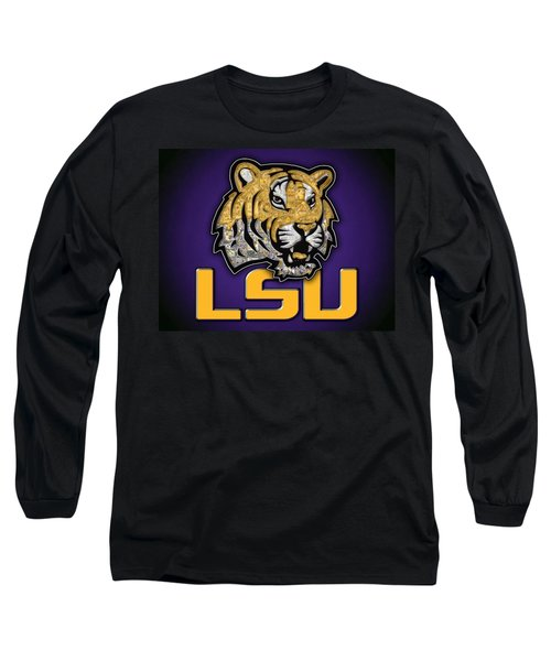 Louisiana State University Tigers Football Long Sleeve T-Shirt