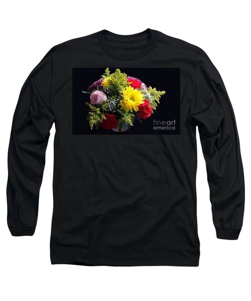 Love Bouquet Long Sleeve T-Shirt by Becky Lupe