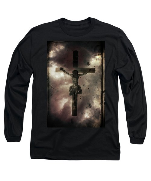 Long Sleeve T-Shirt featuring the painting Love by Gray  Artus
