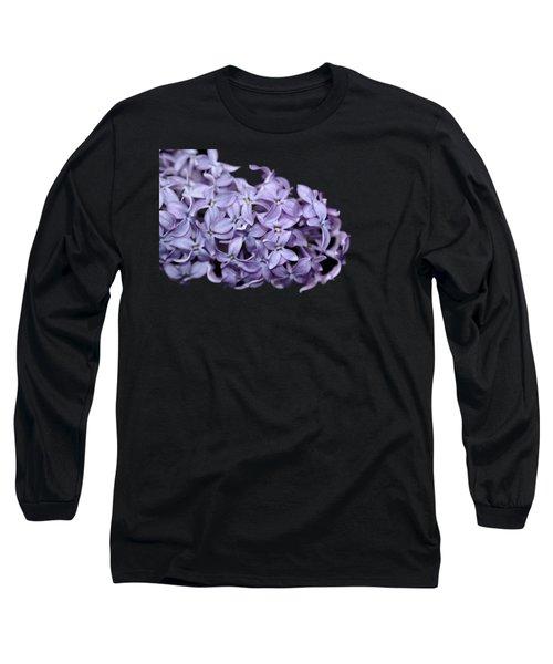 Love In Lilac Long Sleeve T-Shirt by Debbie Oppermann
