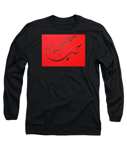 Love In Red By Faraz Long Sleeve T-Shirt