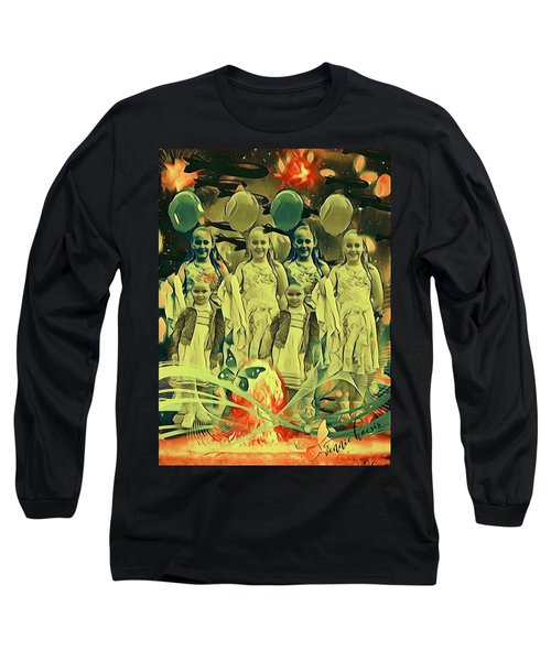 Love In The Age Of War Long Sleeve T-Shirt by Vennie Kocsis