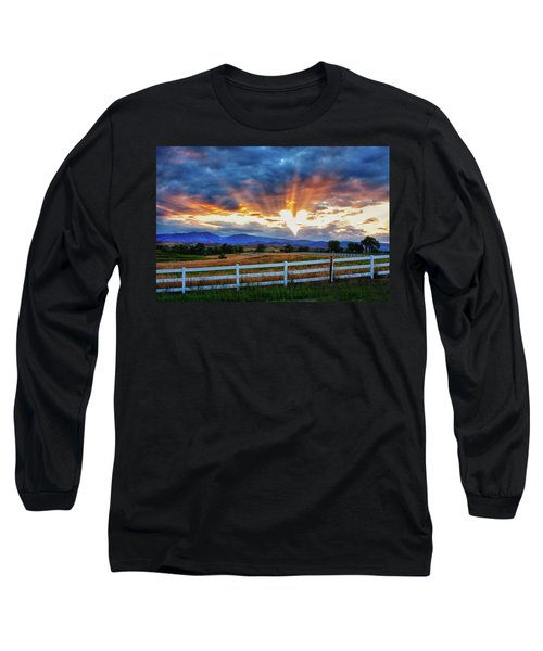 Long Sleeve T-Shirt featuring the photograph Love Is In The Air by James BO Insogna