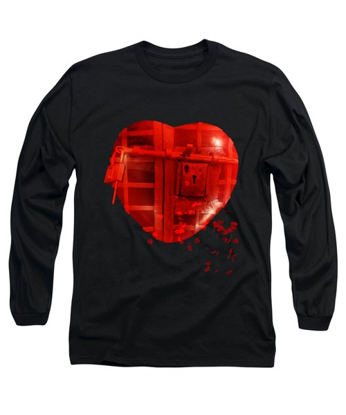Love Locked Long Sleeve T-Shirt by Linda Lees