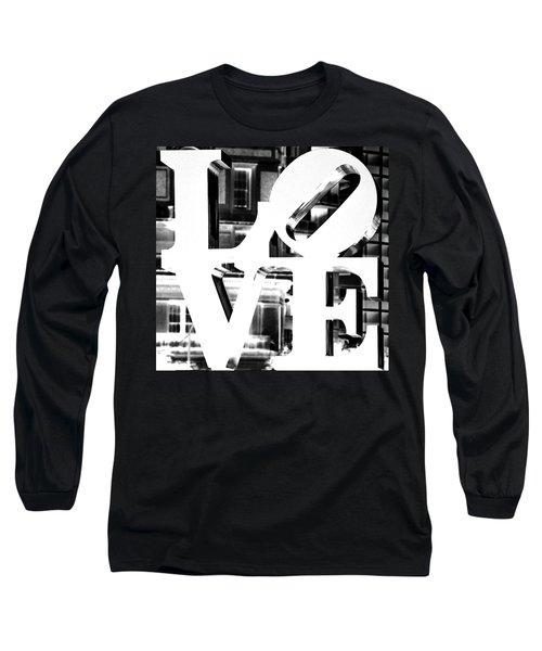 Love Philadelphia White  Long Sleeve T-Shirt