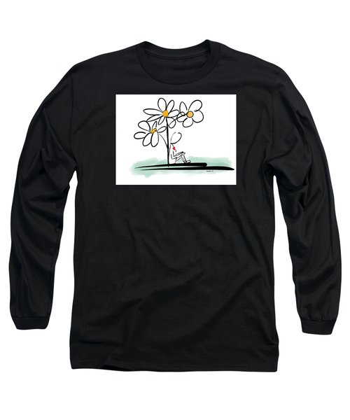Long Sleeve T-Shirt featuring the photograph Love You by Haleh Mahbod