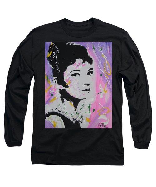 Lovely Audrey Long Sleeve T-Shirt