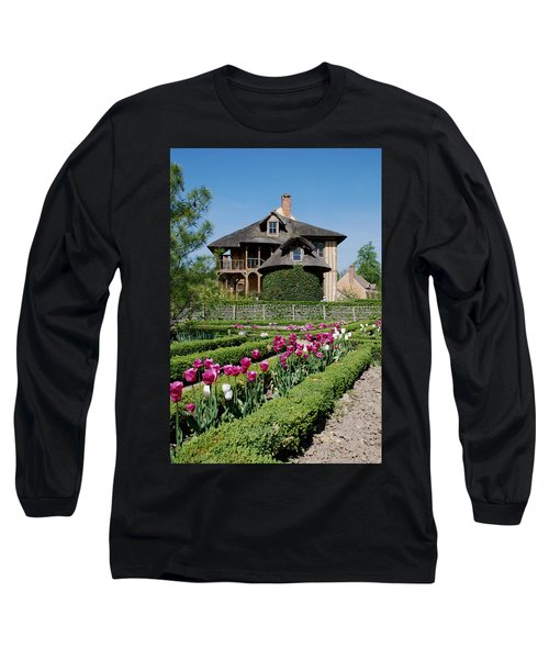 Lovely Garden And Cottage Long Sleeve T-Shirt