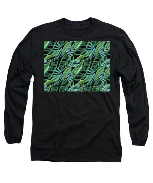 Lovely Green  Long Sleeve T-Shirt