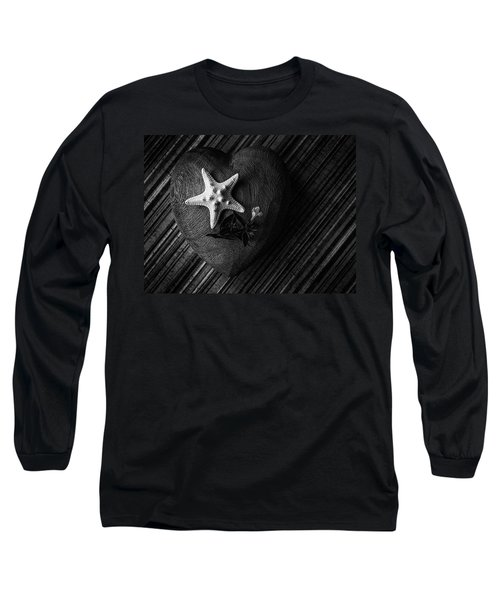 Low Key Heart And Starfish Long Sleeve T-Shirt