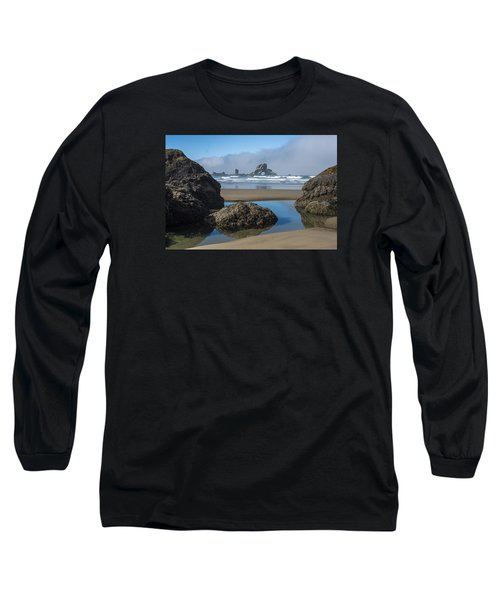Low Tide At Ecola Long Sleeve T-Shirt