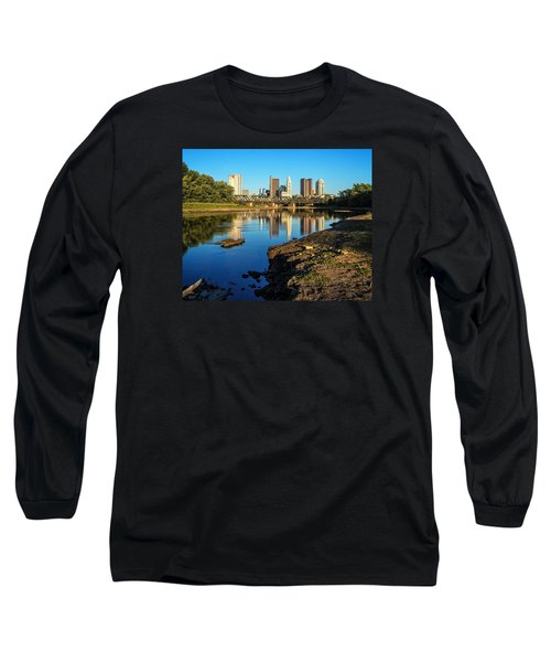 Low Water  Long Sleeve T-Shirt by Alan Raasch