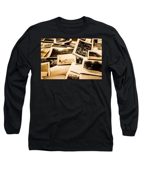 Lowdown On A Vintage Photo Collections Long Sleeve T-Shirt