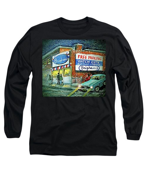 Lower Brigham's Long Sleeve T-Shirt