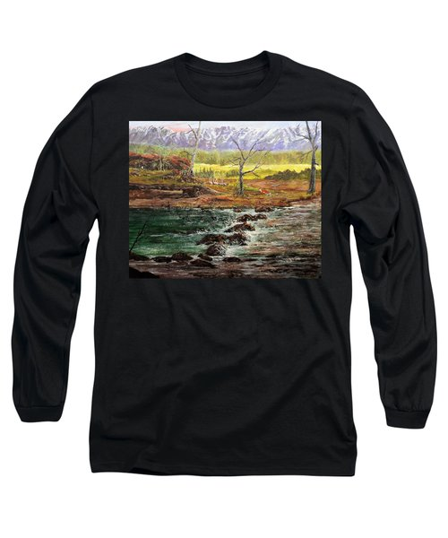 Lowwater Crossing  Long Sleeve T-Shirt