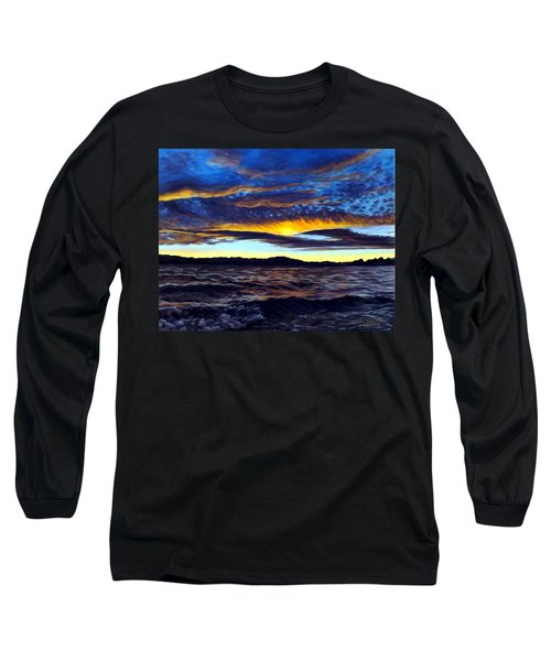 Lucerne Sunset Long Sleeve T-Shirt