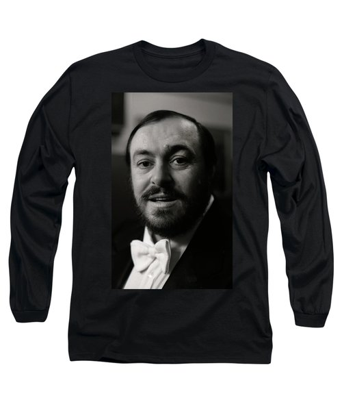 Luciano Pavarotti Long Sleeve T-Shirt