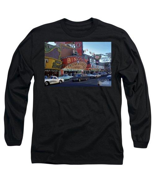 Lucky Strike Club, Las Vegas Long Sleeve T-Shirt