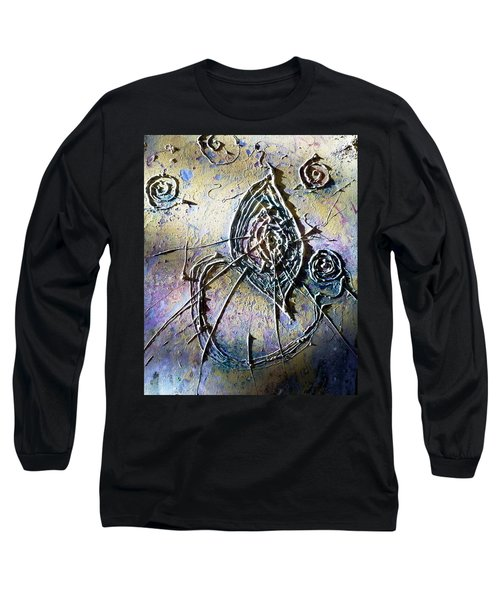 Long Sleeve T-Shirt featuring the painting Luminous  by 'REA' Gallery
