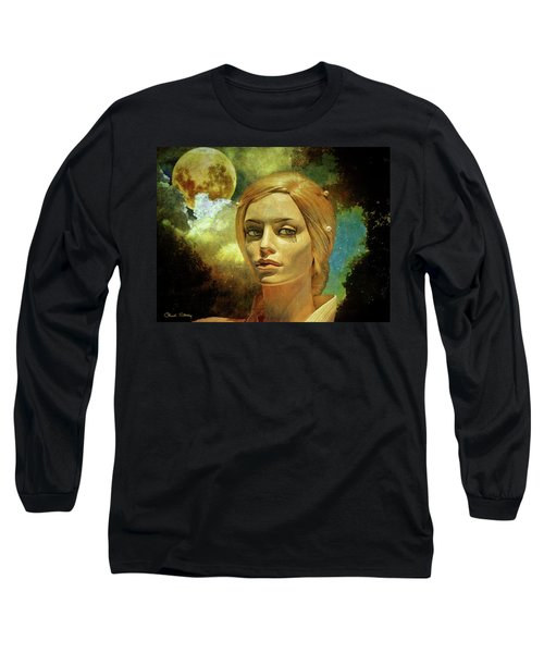 Luna In The Garden Of Evil Long Sleeve T-Shirt