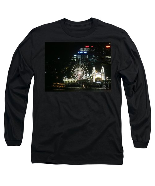 Luna Park Long Sleeve T-Shirt by Leanne Seymour