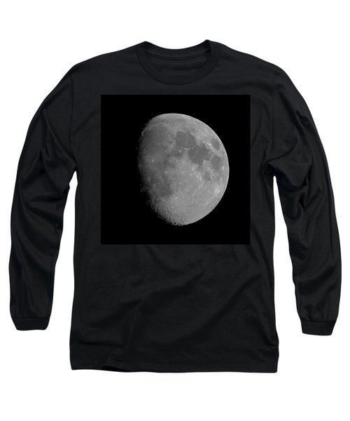 Lunarcy Over Cape Cod Canal Long Sleeve T-Shirt
