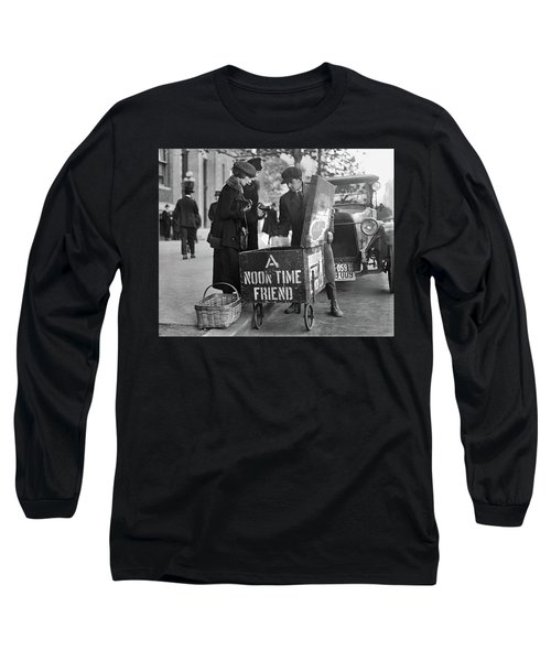 Lunch Cart In Washington D C Long Sleeve T-Shirt