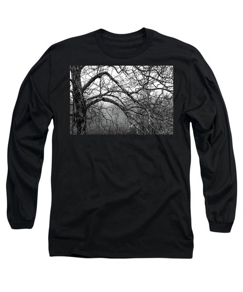 Long Sleeve T-Shirt featuring the photograph Lure Of Mystery by Karen Wiles