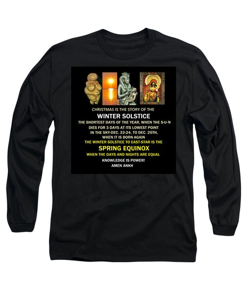 Ma Ra Solstice Long Sleeve T-Shirt