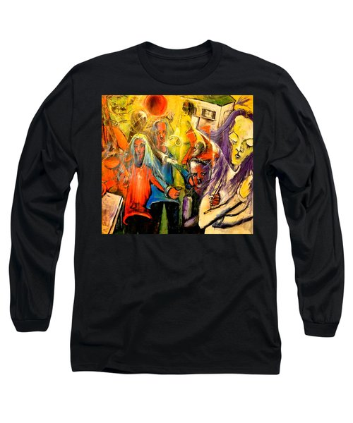 Macabre Setting For Disjointed Family Expectations Long Sleeve T-Shirt