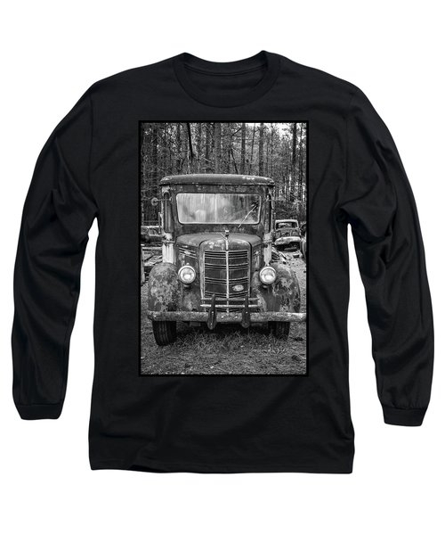 Mack Truck In A Junkyard Long Sleeve T-Shirt