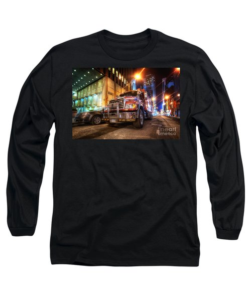 Mack Truck Nyc Long Sleeve T-Shirt