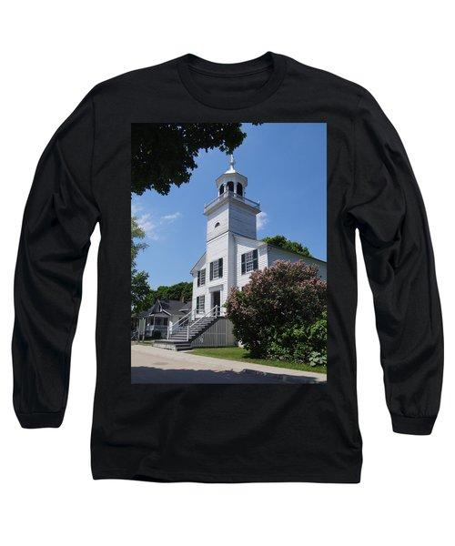 Mackinac Island Mission Church Long Sleeve T-Shirt
