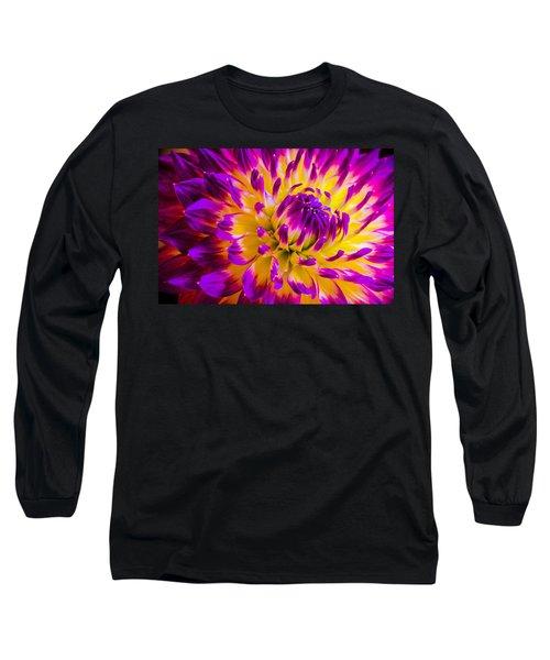 Macro Flora Long Sleeve T-Shirt