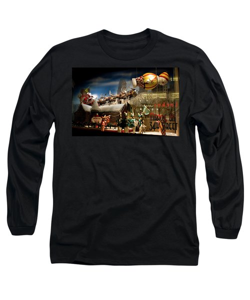 Macy's Miracle On 34th Street Christmas Window Long Sleeve T-Shirt
