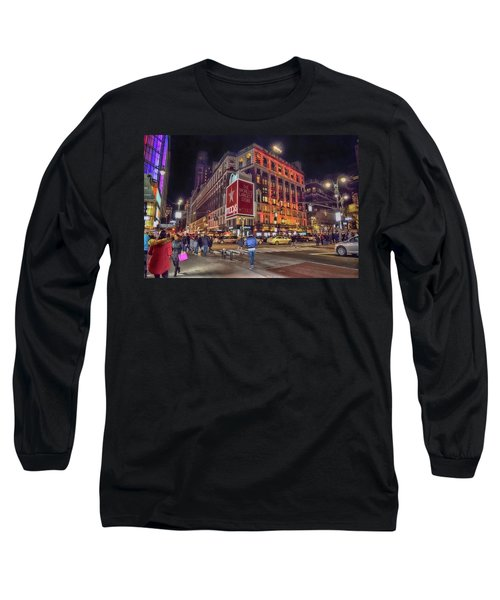 Macy's Of New York Long Sleeve T-Shirt by Dyle Warren