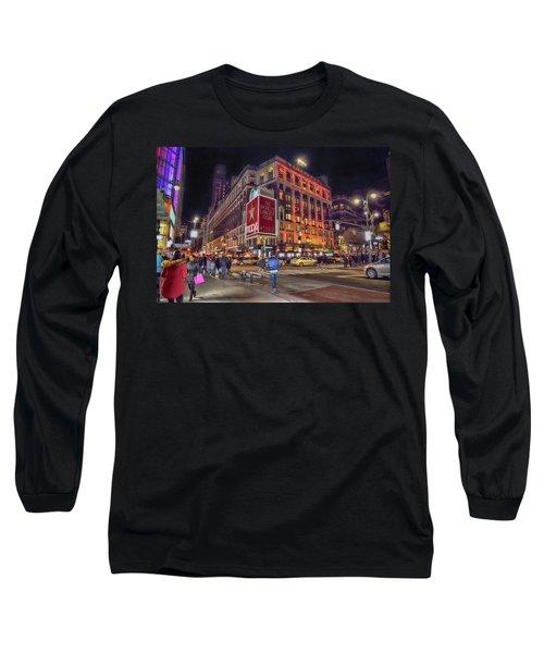 Macy's Of New York Long Sleeve T-Shirt