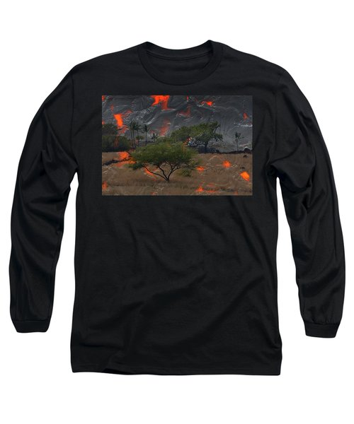 Madam Pele Approaches Long Sleeve T-Shirt