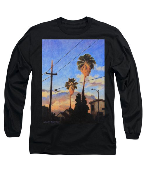 Madison Ave Sunset Long Sleeve T-Shirt