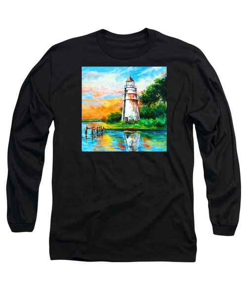 Madisonville Sunset Long Sleeve T-Shirt by Dianne Parks