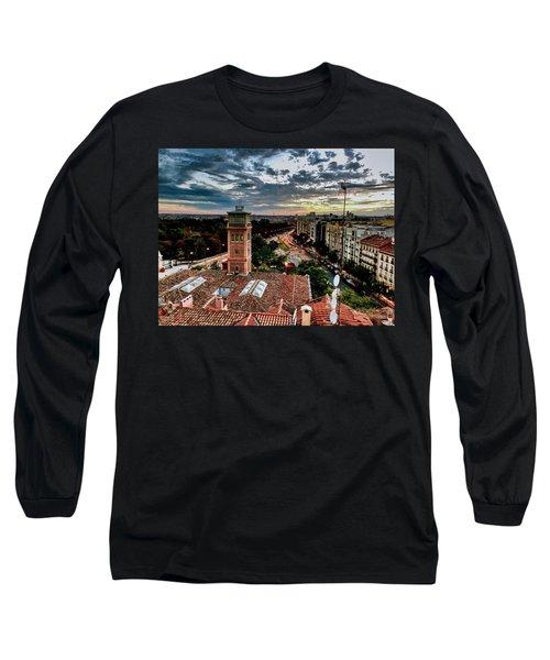 Madrid Sunset Long Sleeve T-Shirt
