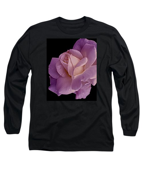 Magenta Queen 8  Long Sleeve T-Shirt by Lynda Lehmann