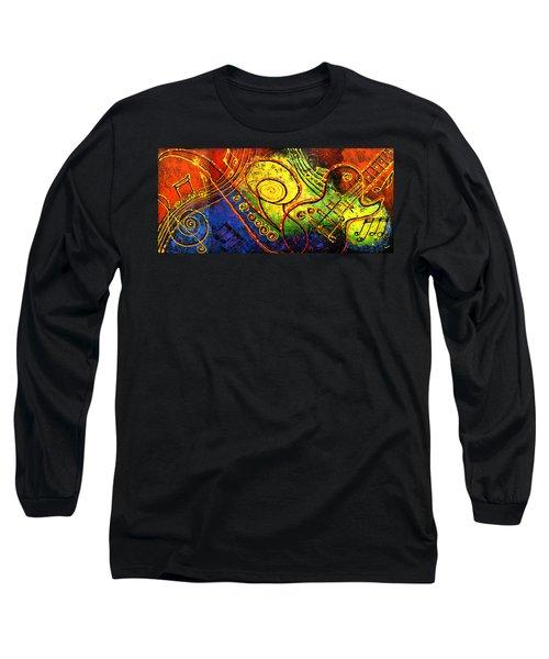 Magic Guitar Long Sleeve T-Shirt