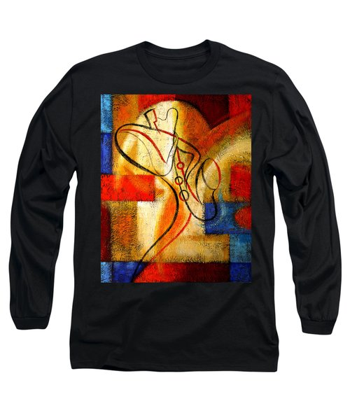 Magic Saxophone Long Sleeve T-Shirt