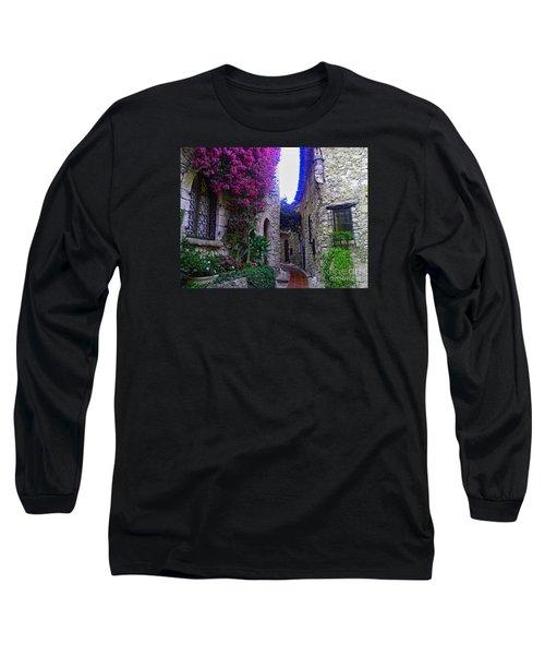 Magical Beauty In Eze France Long Sleeve T-Shirt