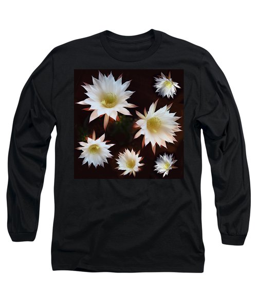 Magical Flower Long Sleeve T-Shirt by Gina Dsgn